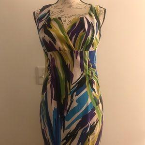Scarlett Dress | Multi-Colored | Sheath